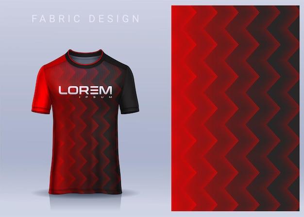 T シャツ サッカー ジャージーの生地のテキスタイル デザイン