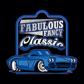 Fabulous fancy classic car