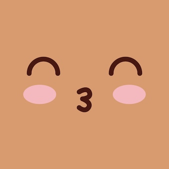 Face emoticons design