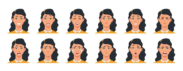 Face expression illustration