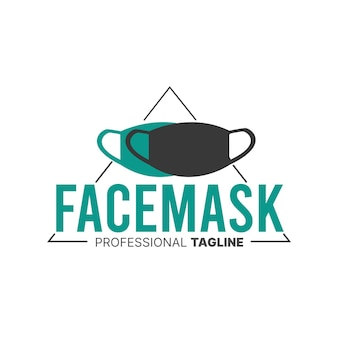 Face mask logo