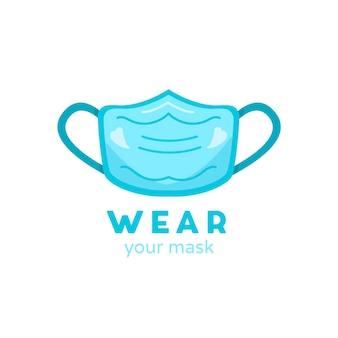 페이스 마스크 로고