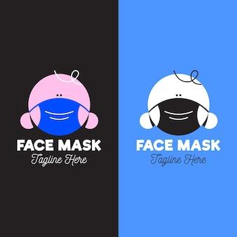 Логотип маски для лица