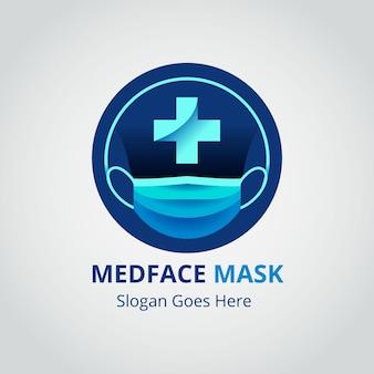 フェイスマスクのロゴ