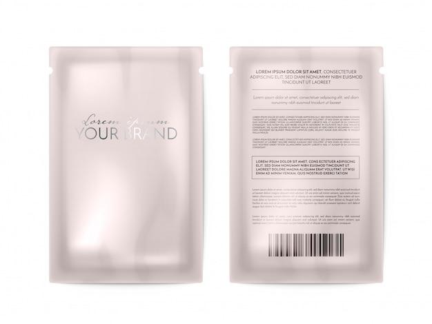 Косметическая упаковка Premium векторы