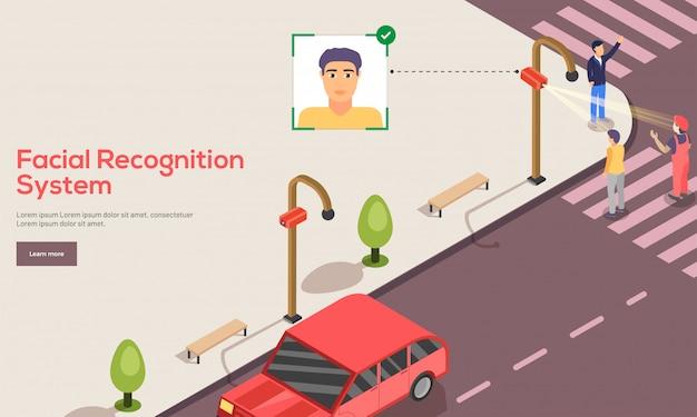 Face recognition concept