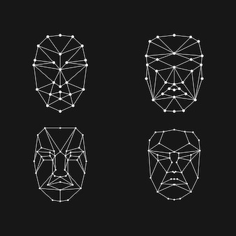 Face recognition grid