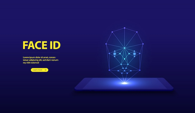 Face recognition system. face id