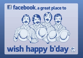 Facebook a great place to wish happy birthday
