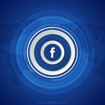 Facebook blue background