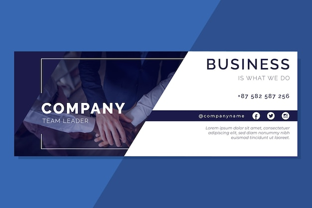 Facebook business cover template