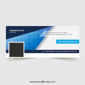 Facebook corporate cover