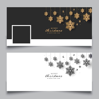 Facebook cover christmas design