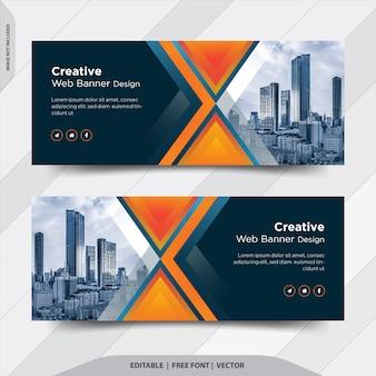 Креативная бизнес-компания facebook cover