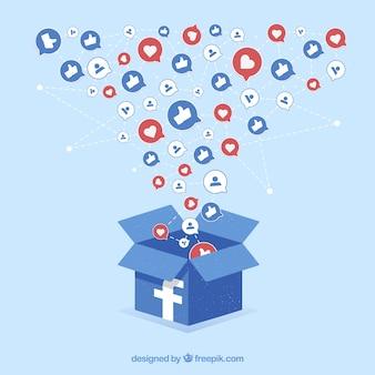 Фондовый источник facebook