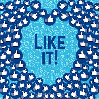 Facebook like background