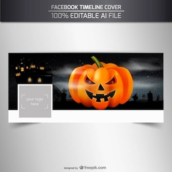Facebook timeline cover for halloween