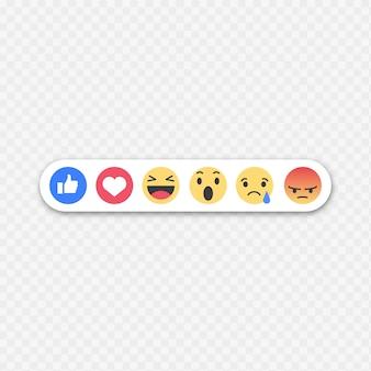 Facebookの顔文字