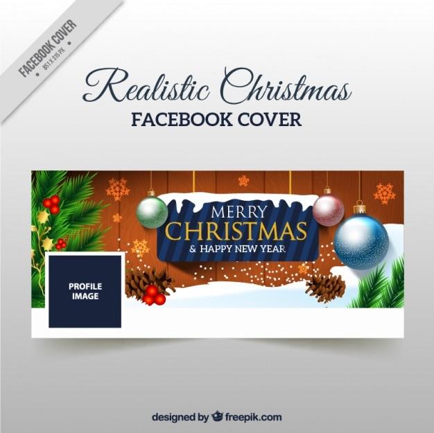 Facebook рождественские украшения покрывают