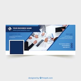 抽象的な企業のfacebookのカバー
