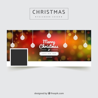Facebook рождественская обложка