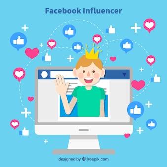 Facebookインフルエンサーの背景