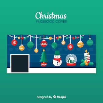 Прекрасный рождественский обложка для facebook