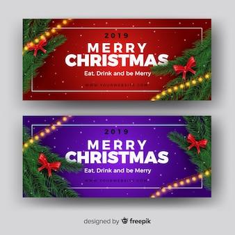 Красивая рождественская обложка для facebook