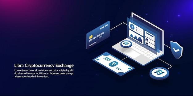 Весовой криптовалютный обмен, следующее поколение цифровой глобальной монеты facebook