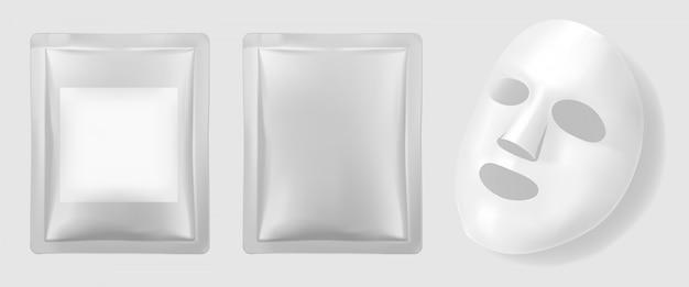 Facial mask packaging