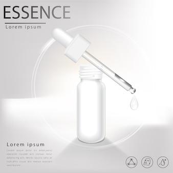 Facial treatment essence skin care cosmetic.