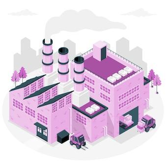 Factoryconcept illustration