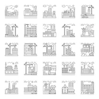 Factory illustrations pack