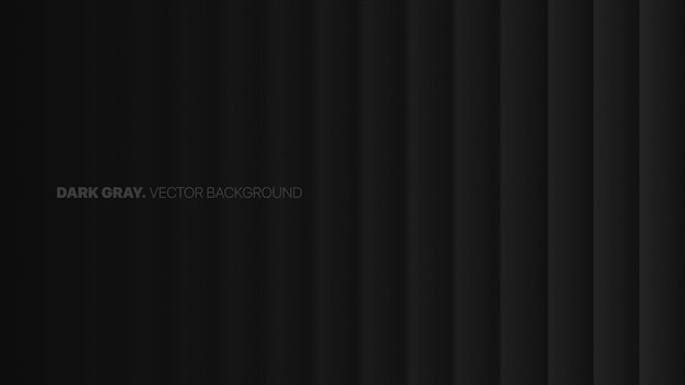 Fading straight lines in a row 3d blurred effect dark gray abstract background