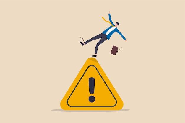 Failure prevention or avoid danger concept