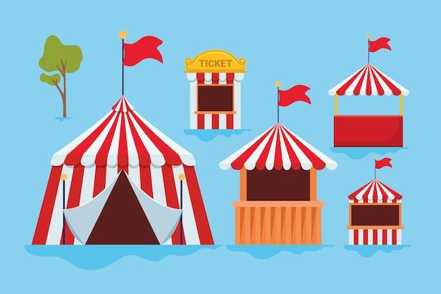 Ярмарка палаток