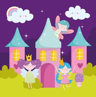 Фея милый замок волшебный мультфильм