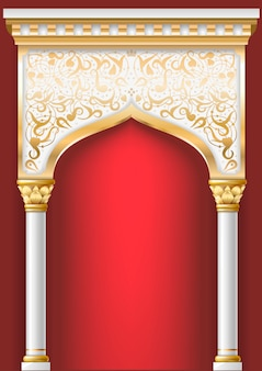 Сказочная восточная арка