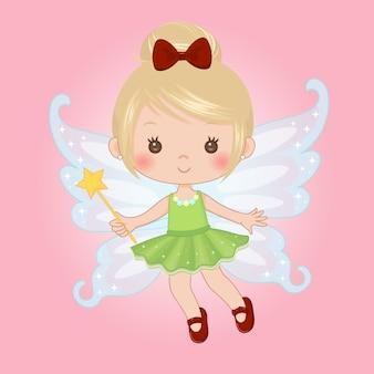 Fairy girl clipart