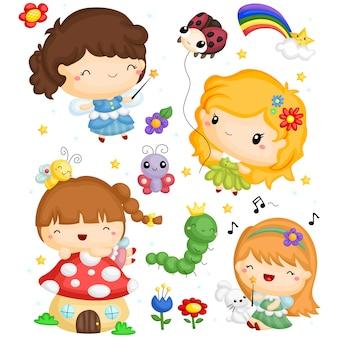Fairy image set