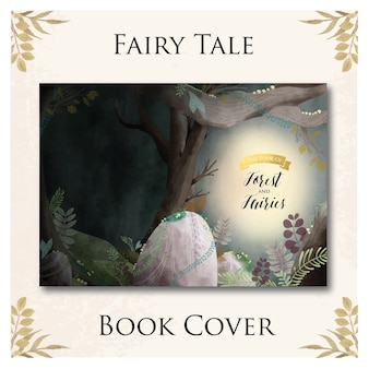 Fairy tale book cover