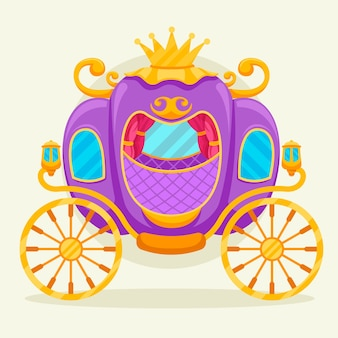 Сказочная коляска-фантазия