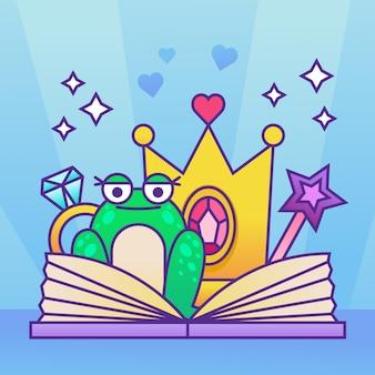 Fairy tale concept illustration