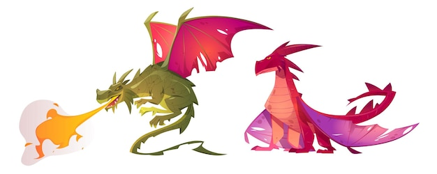 Fairy tale dragons