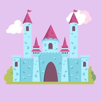 Fairy tale fortress concept