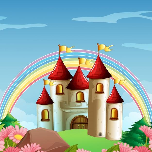 A fairy tale  scene