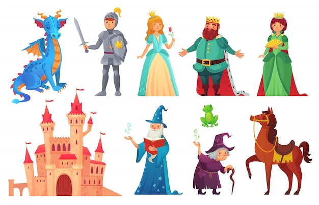 Fairy tales characters