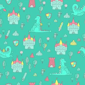 Fairy tales pattern