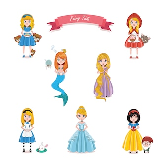 fairy tales princesses collection