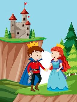 A fairy talke scene